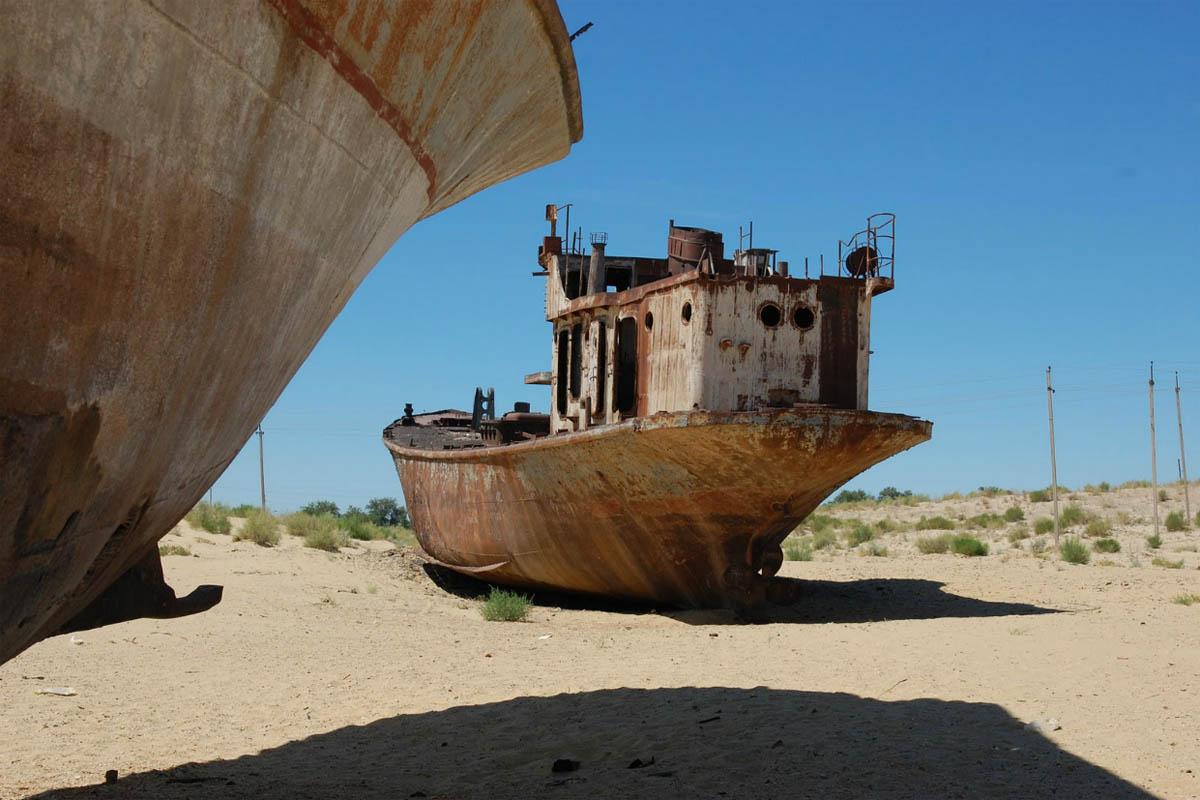 город Муйнак, Аральское море