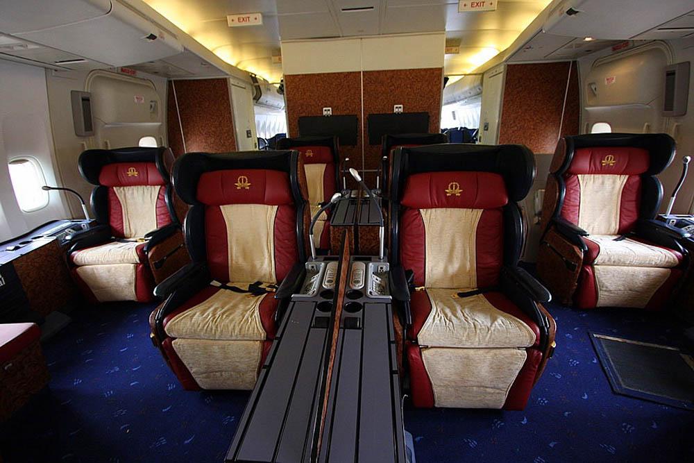 самолет бизнес-класса