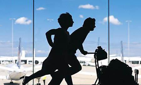 опоздать на самолет