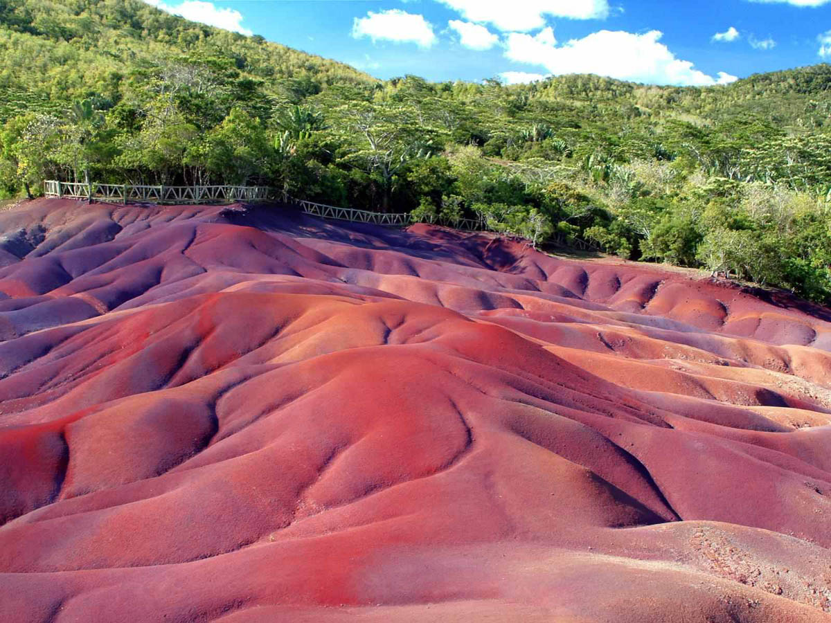 Seven Coloured Earth, Chamarel