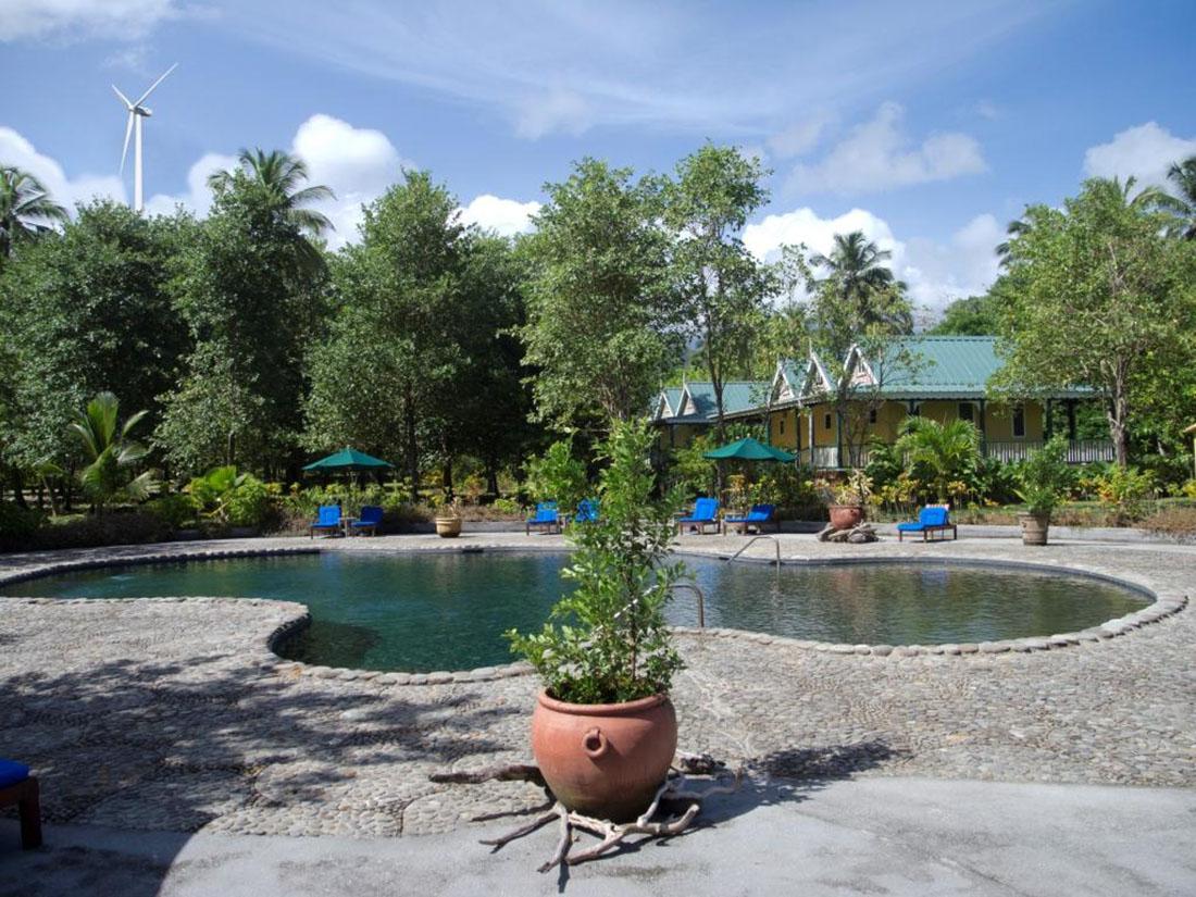 Eco-luxury Rosalie Bay Resort, Dominica