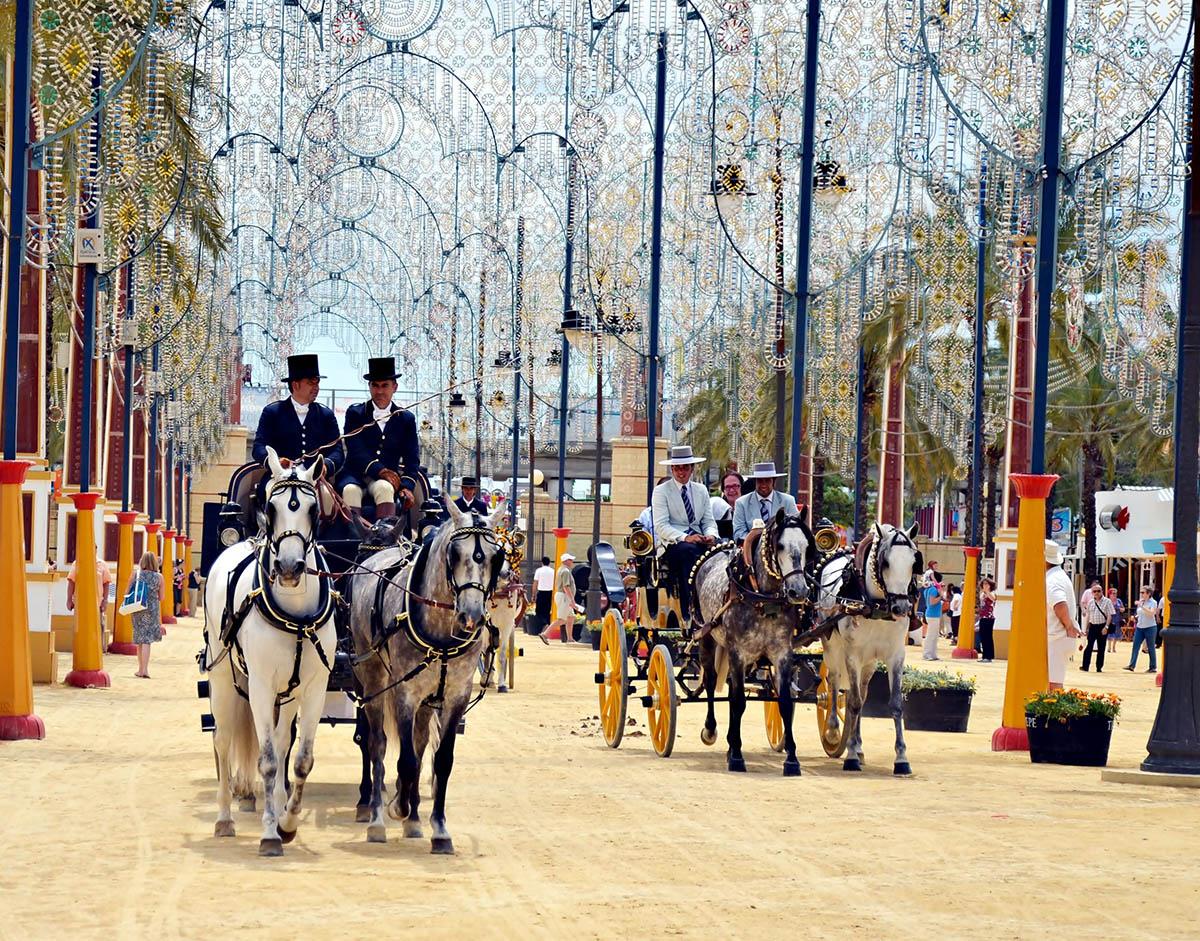 Feria del Caballo Horse Fair – Jerez de la Frontera Spain
