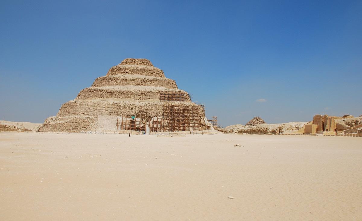 Пирамида Джосера, Каир, Египет