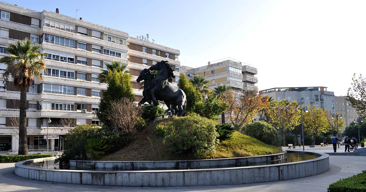Plaza del Caballo Avenida Alcalde Alvaro Domecq Jerez de la Frontera