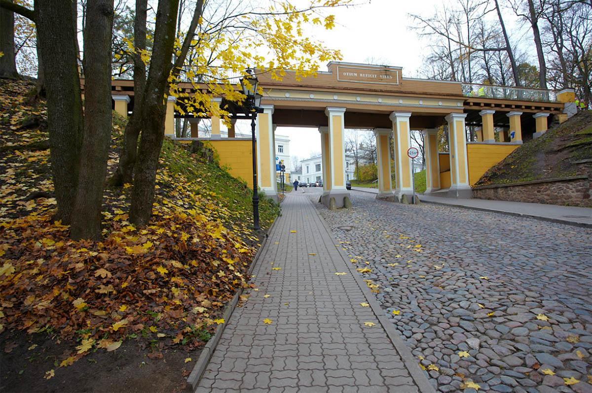 мост Инглисильд, Эстония