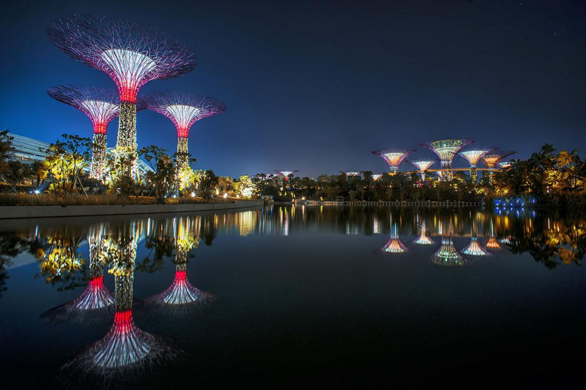 зимние сады, Сингапур