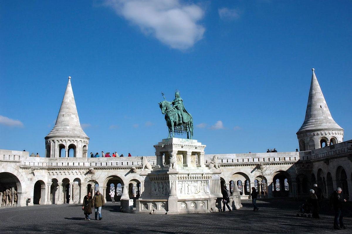 Рыбацкий бастион, Будапешт, Венгрия