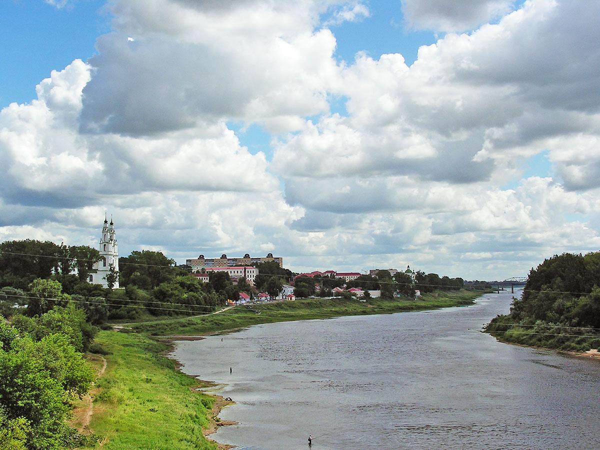Западная Двина в Полоцке