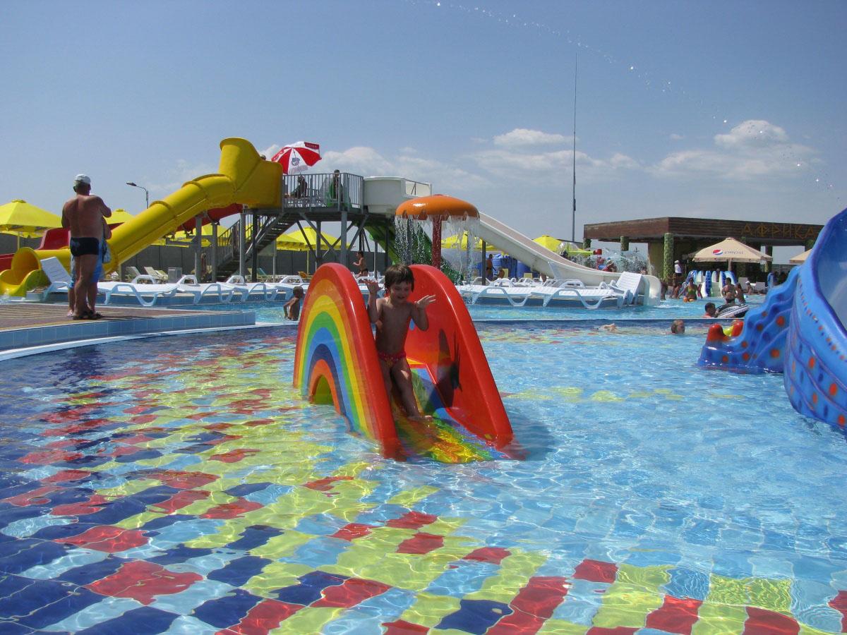 аквапарк в Кирилловке