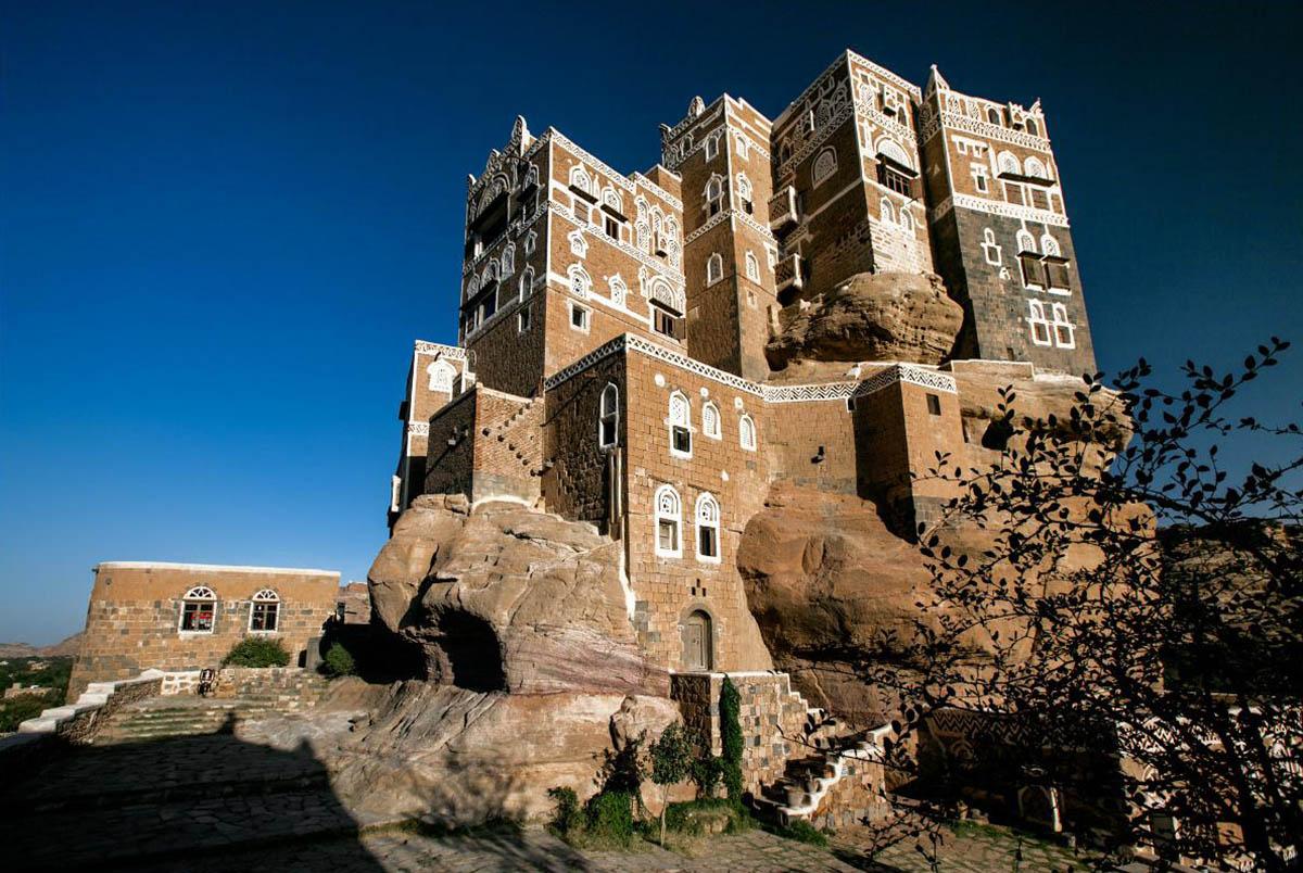 дворец на Скале, Йемен