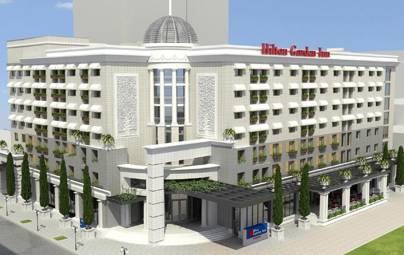 гостиница Hilton в Краснодаре