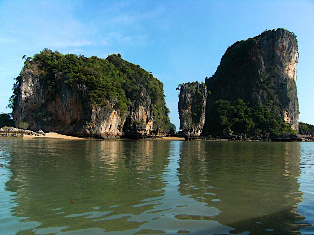 остров Као Тапу, залив Пхенг-Нга, Таиланд