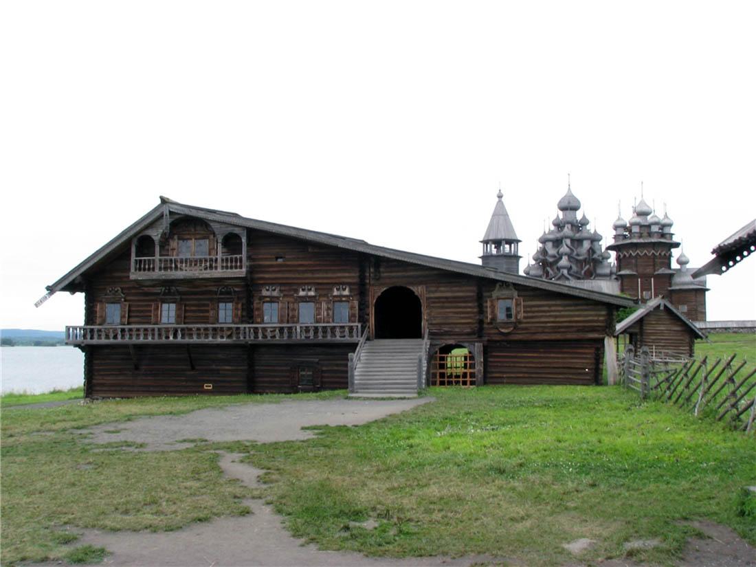остров Кижи, Карелия, Россия