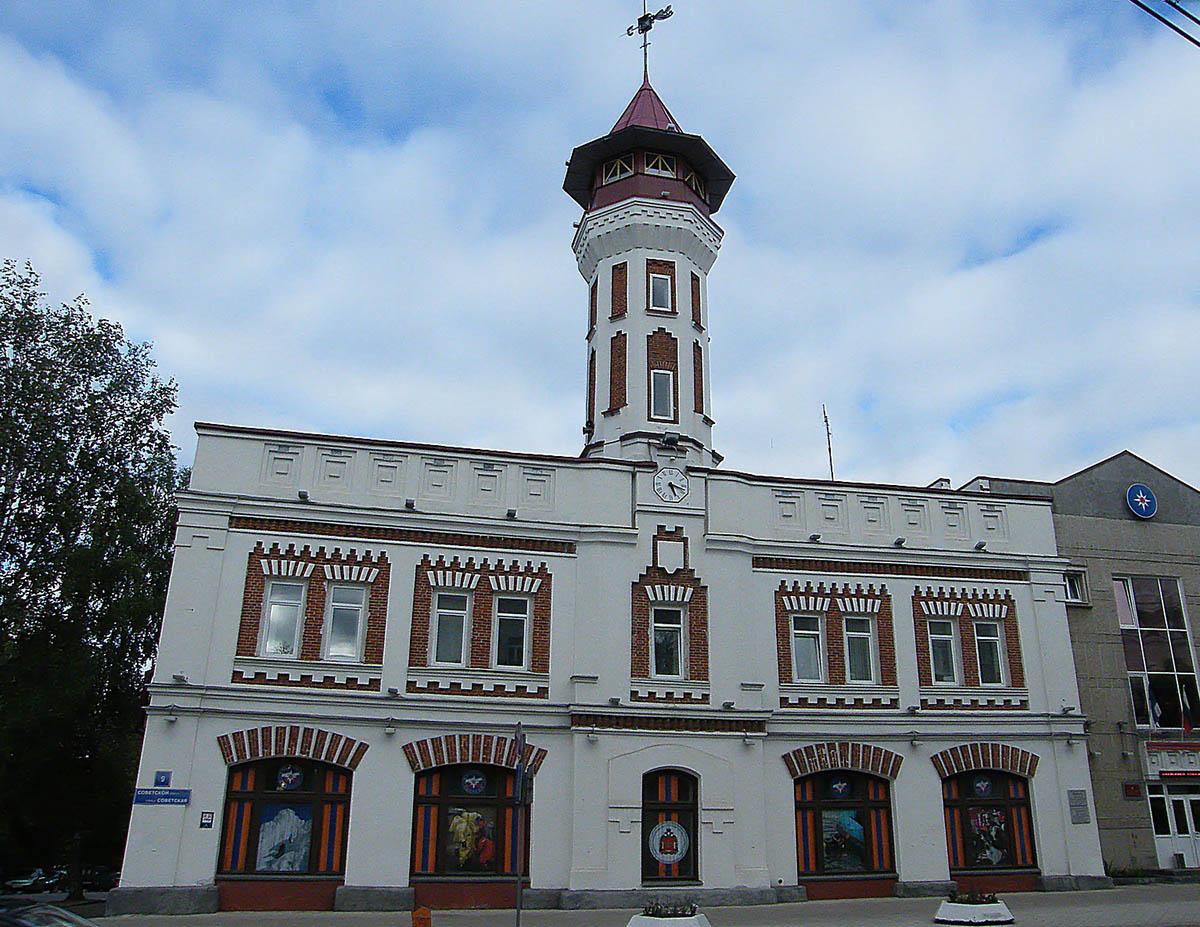пожарная каланча, Сыктывкар, Республика Коми
