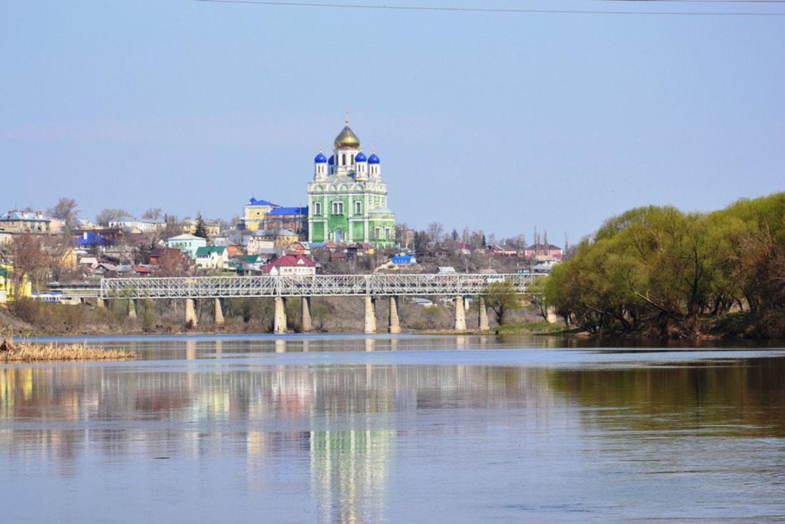 река Быстрая Сосна, Елец, Россия