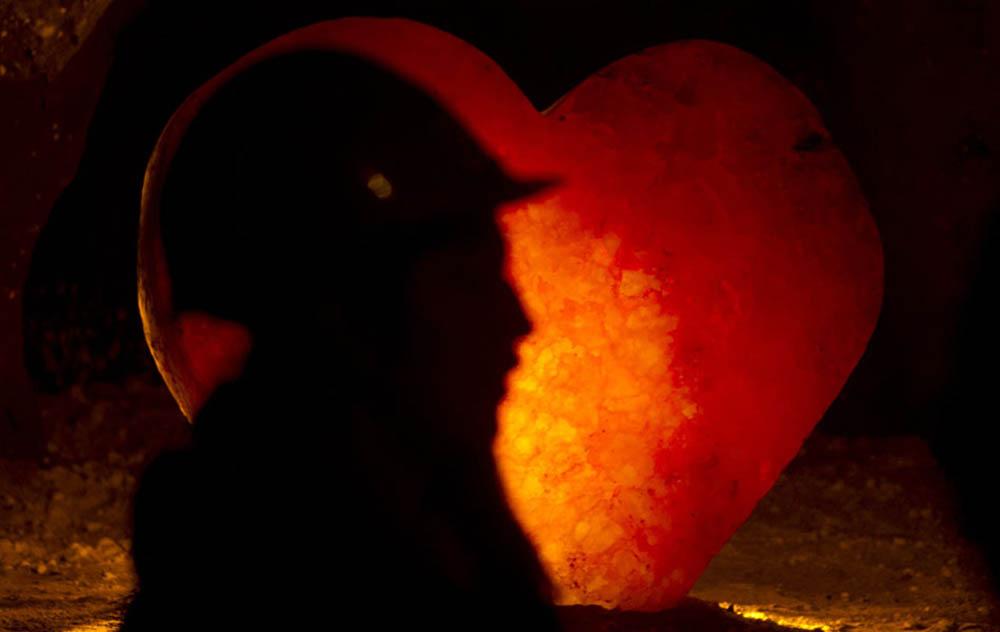 сердце из соли 1600 кг