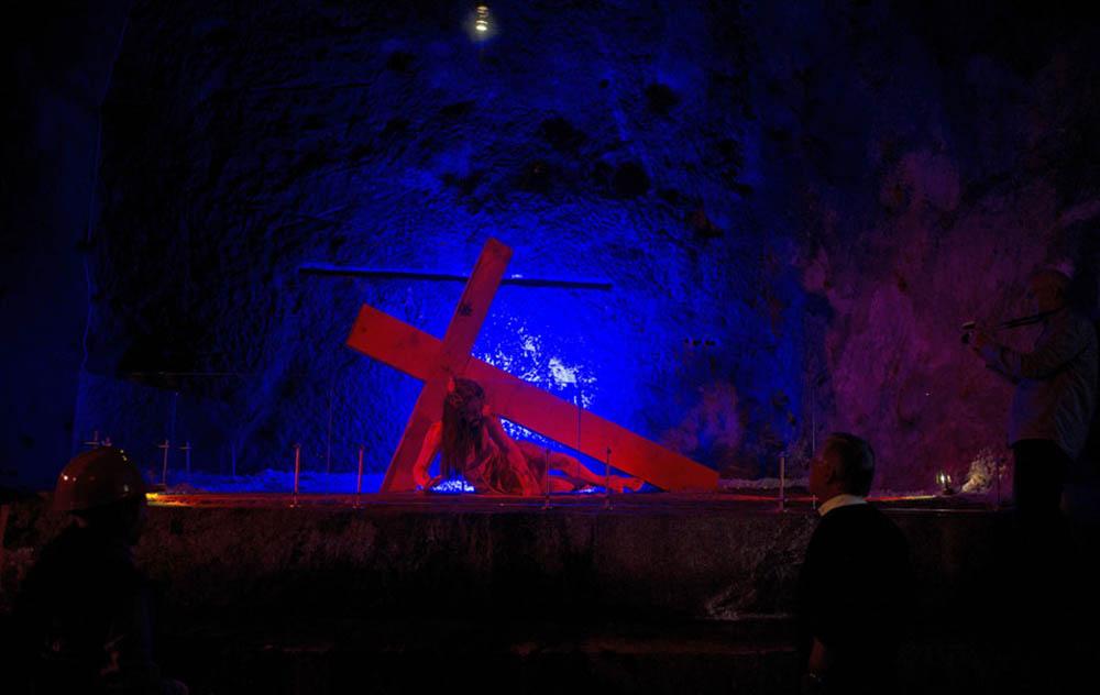 часовня в шахте города Немокон, Колумбия