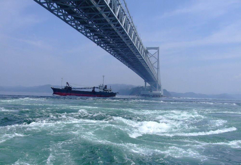 водоворот Наруто в Японии