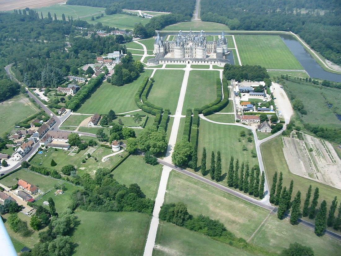 шамборский замок план схема