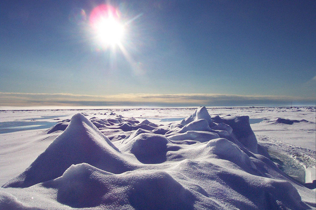 Арктическая зима