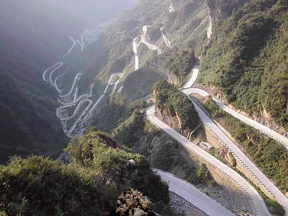Бухтарминская дорога