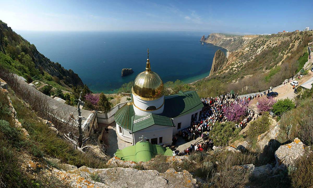 Георгивский монастырь, мыс Фиолент, Крым