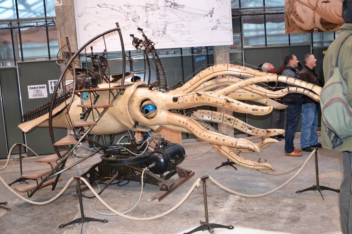 Les Machines de l Ile Le Grand, осьминог
