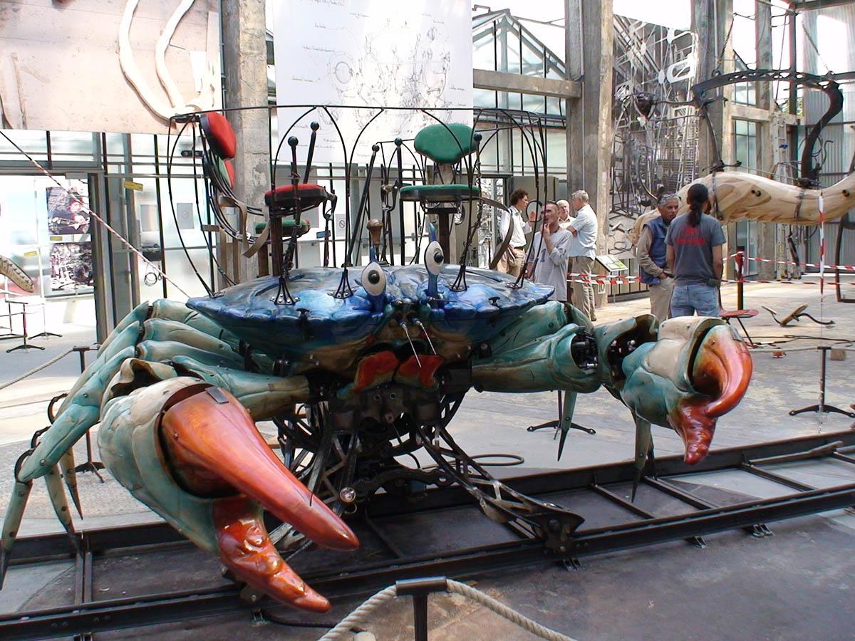 Les Machines de l Ile Le Grand, краб