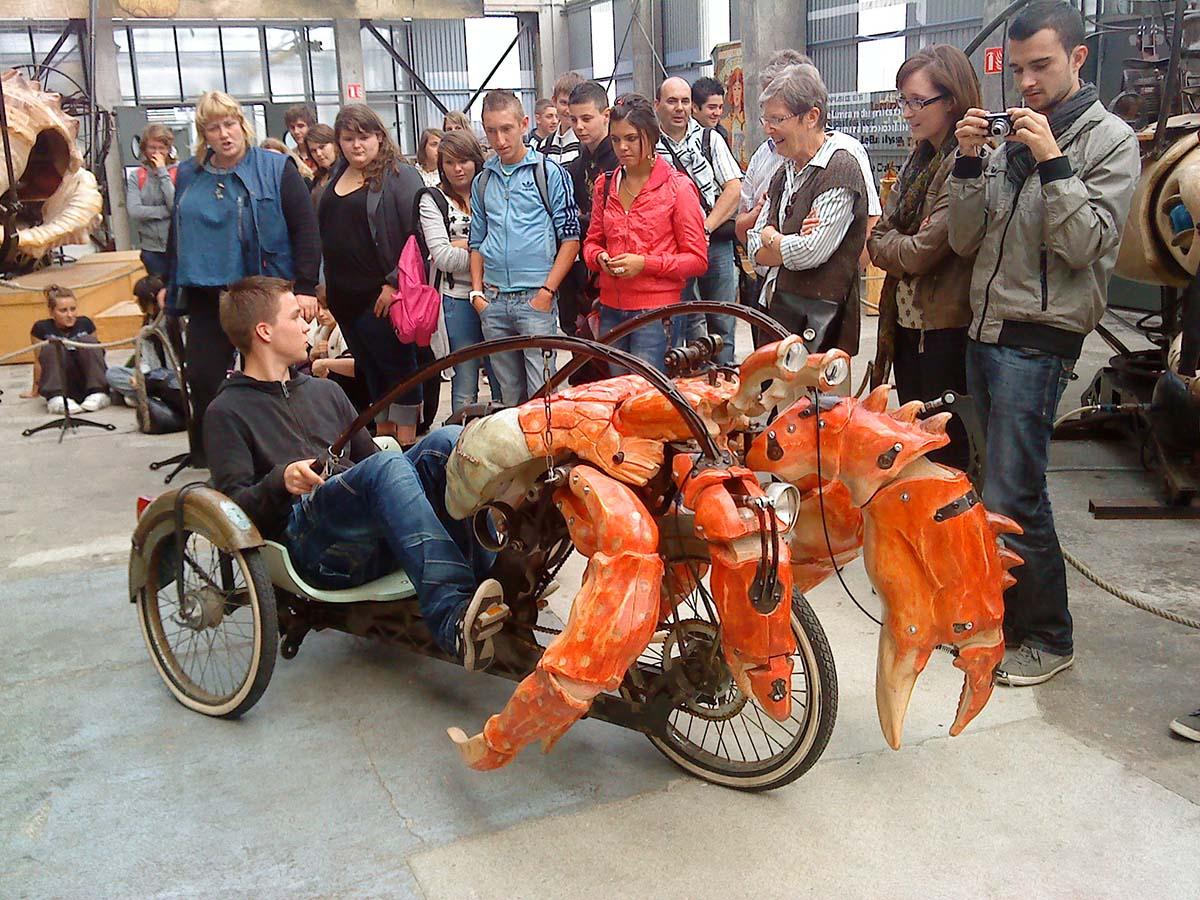 Les Machines de l Ile Le Grand, лангуст