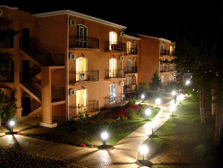 отель Ривьера в Анапе