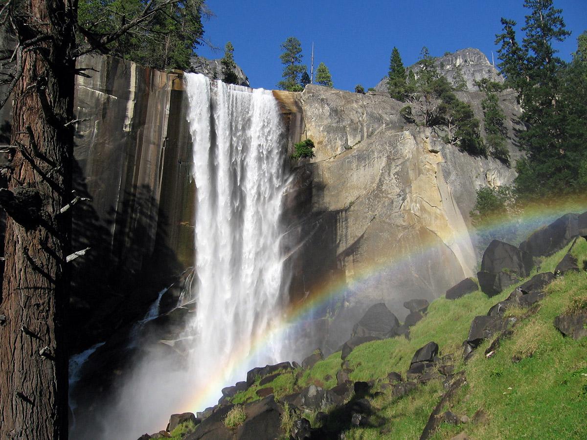 Vernal Falls Yosemite, California