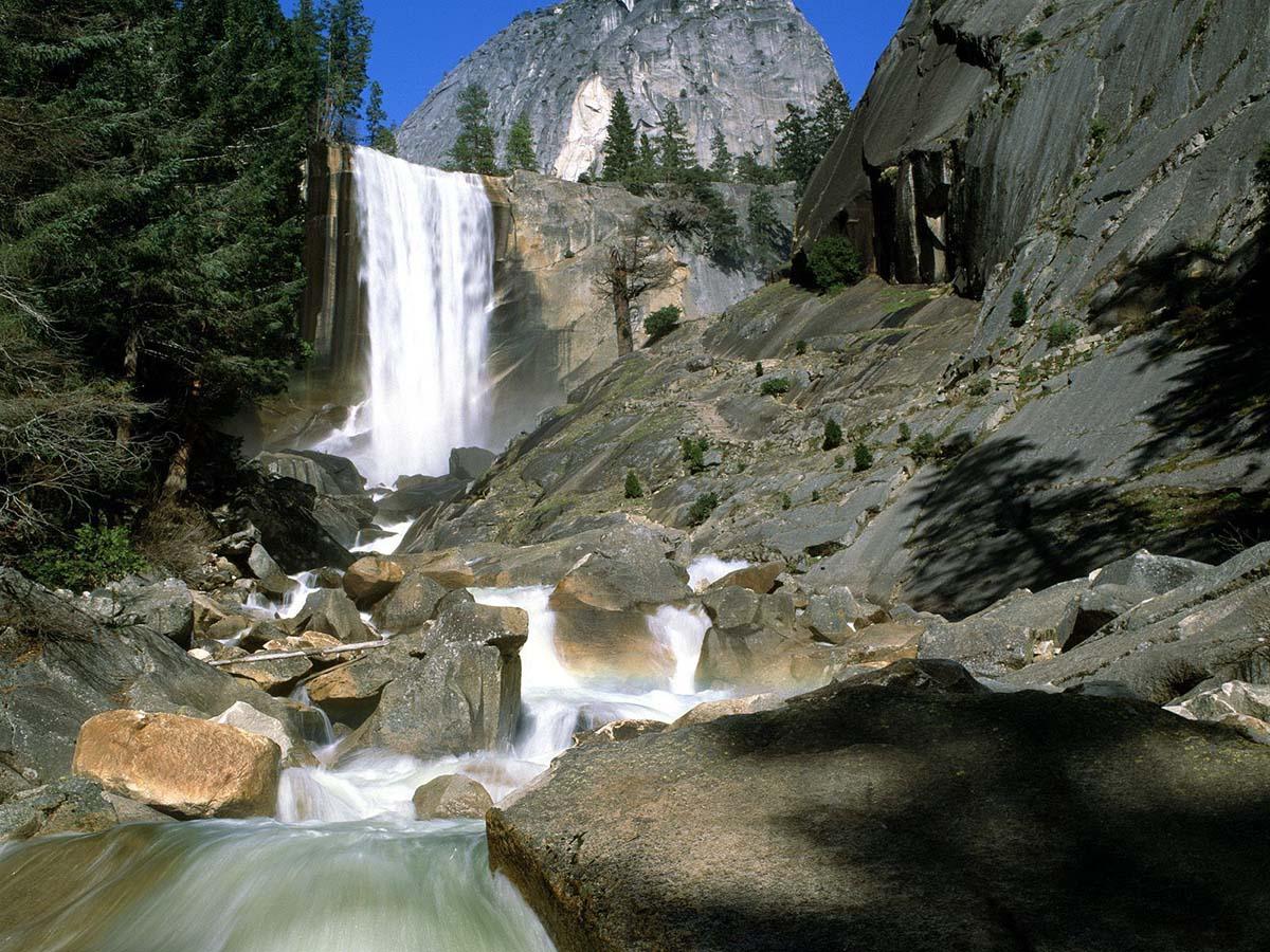 Vernal Falls Yosemite, National Park California