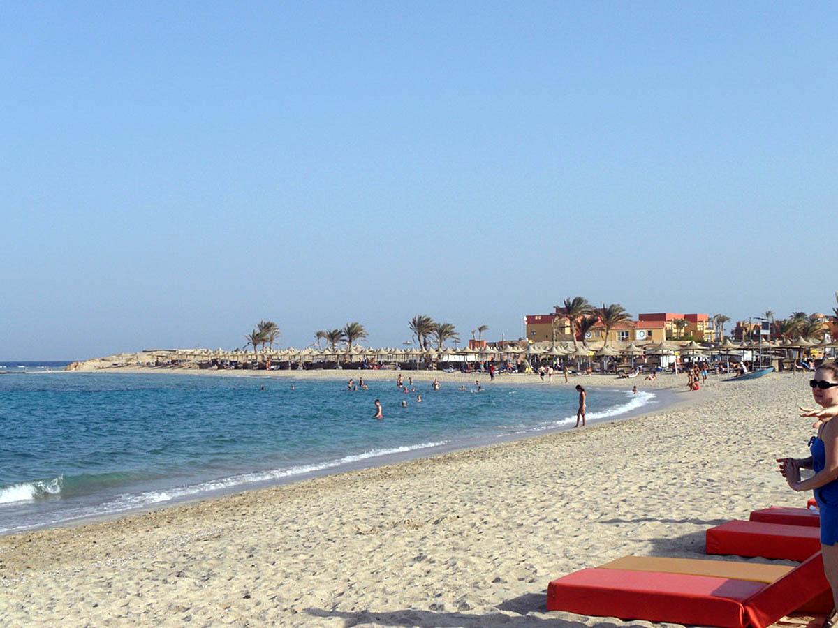 бухта Абу Даббаб, Египет
