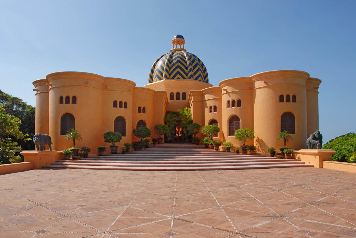 экоотель Cuixmala в Мексике