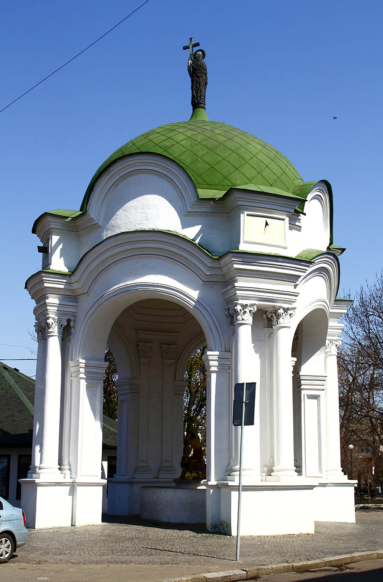 фонтан Самсон в Киеве