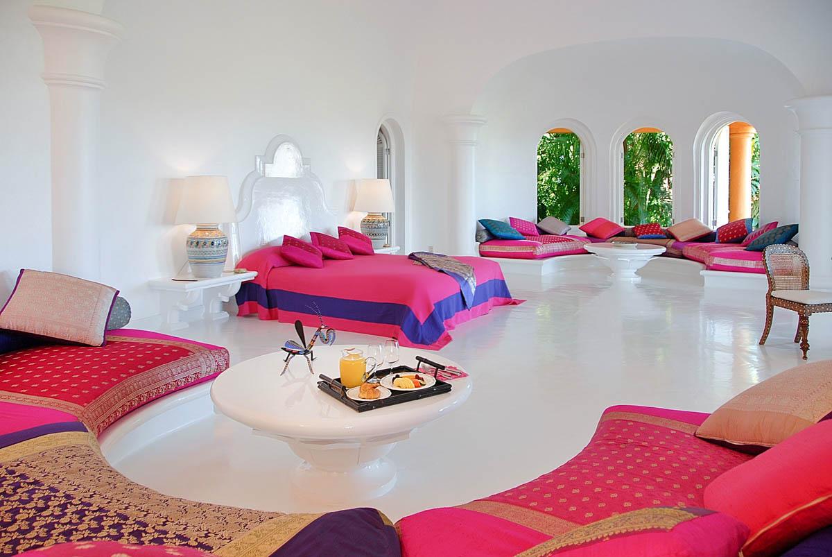 интерьер экоотеля Eco Luxe Resort Cuixmala