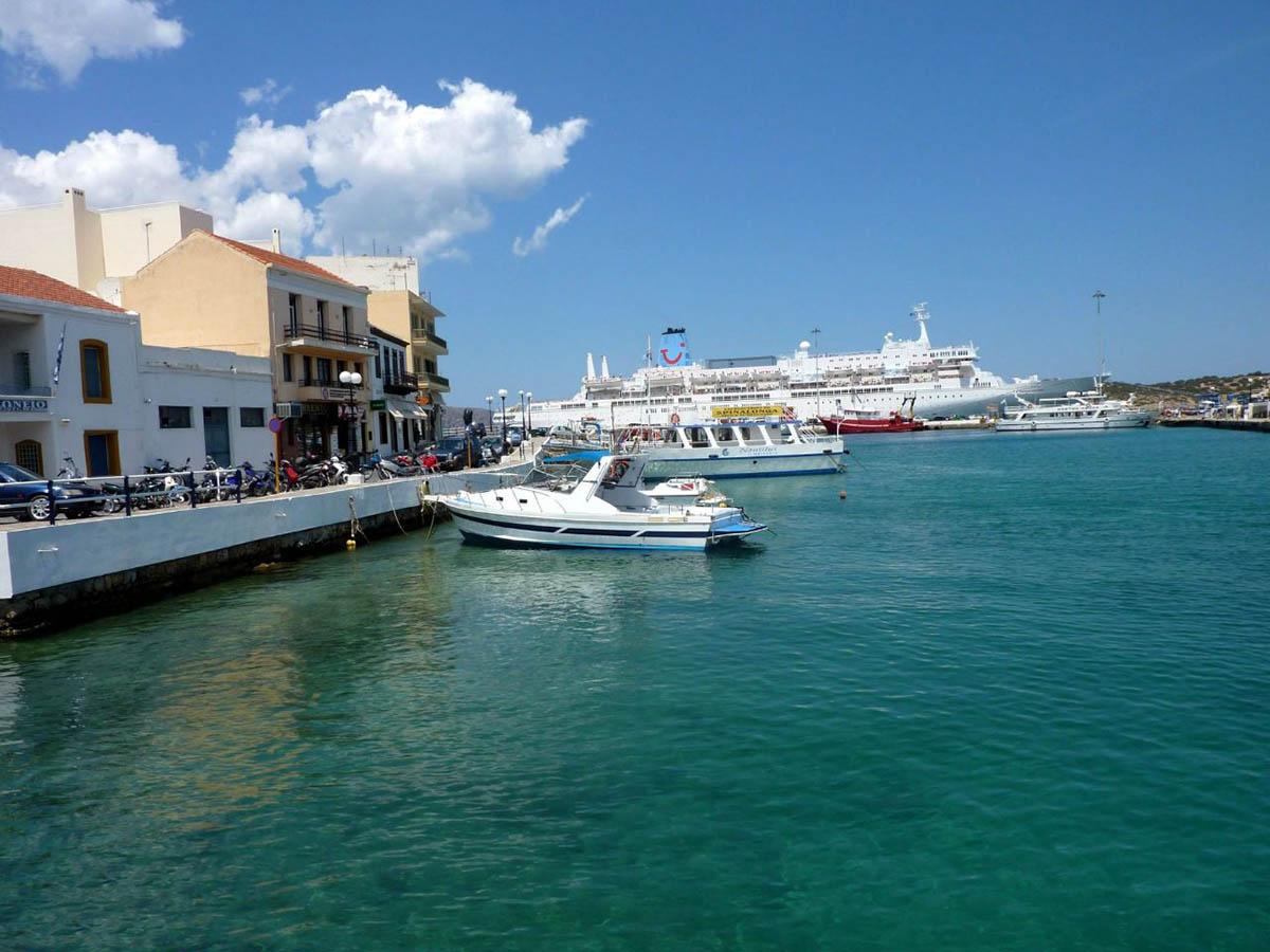 озеро Вулисмени, остров Крит, Греция