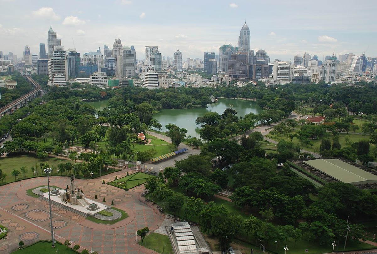 парк Лумпини, Бангкок, Таиланд