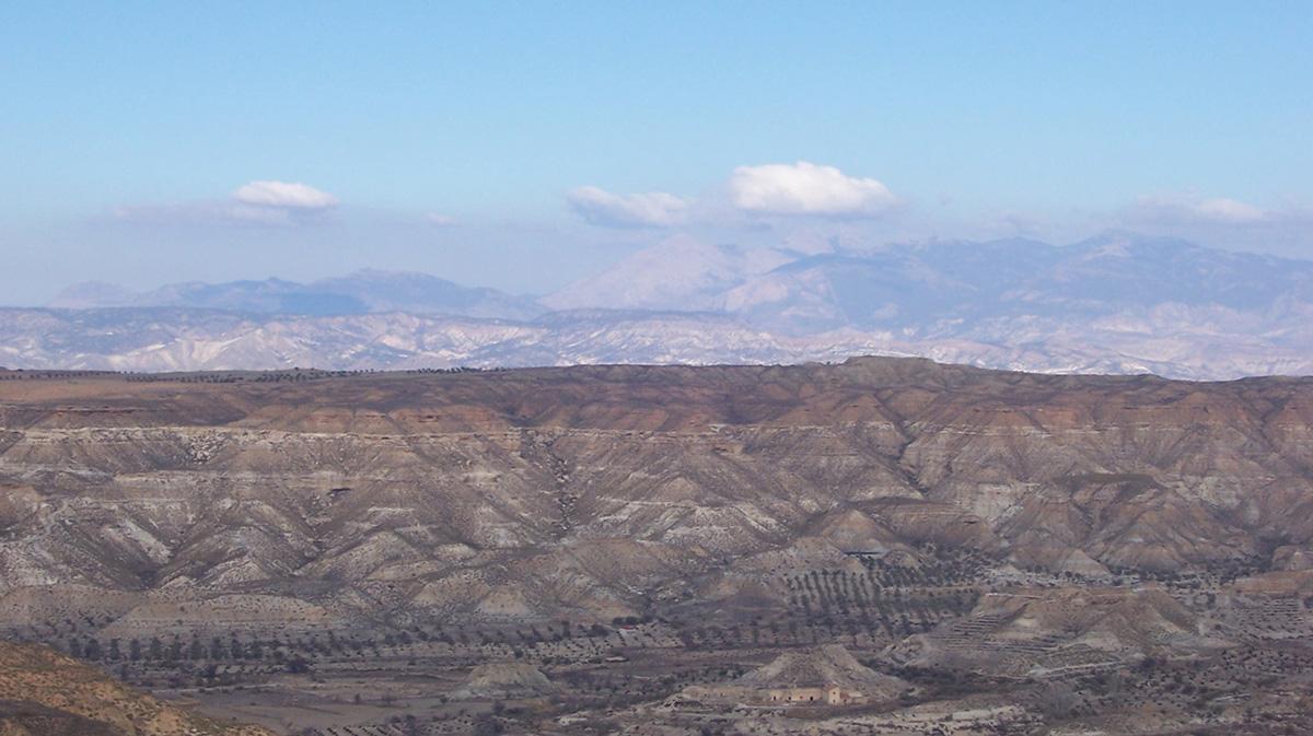 пустыня Табернас в Испании