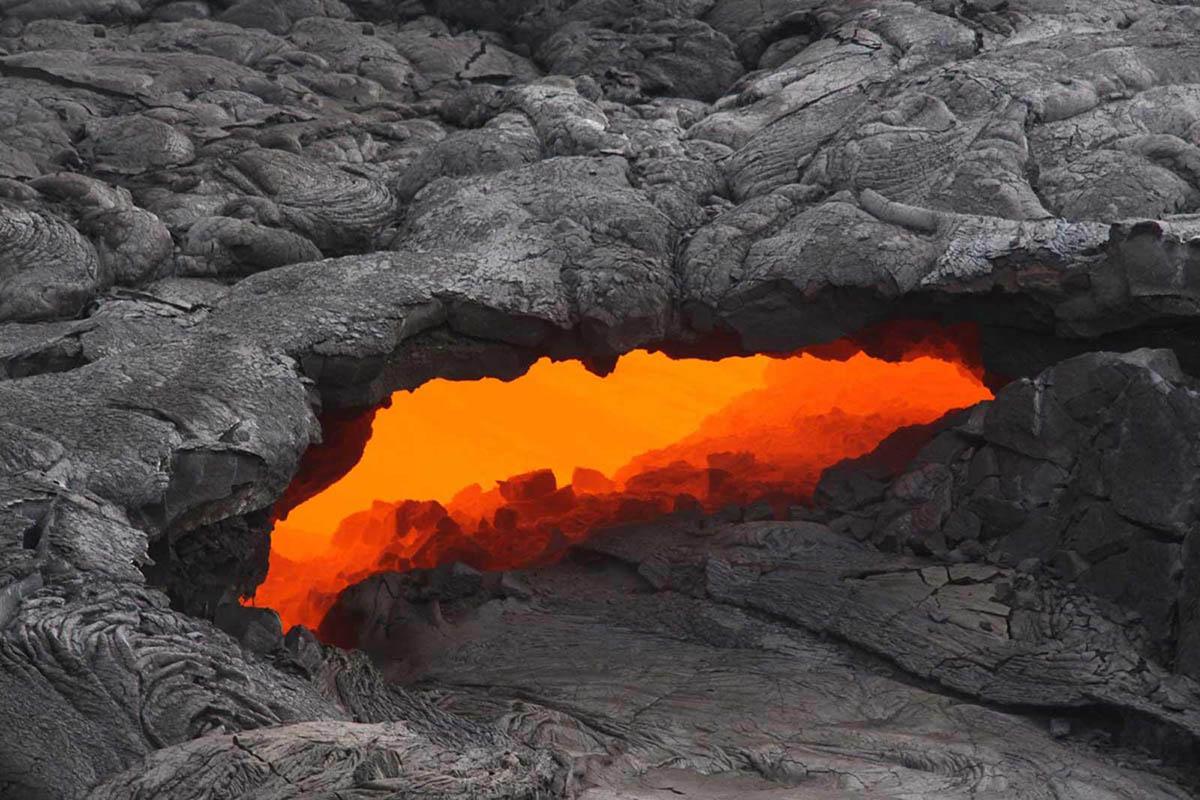 туннель вулкана Килауэа