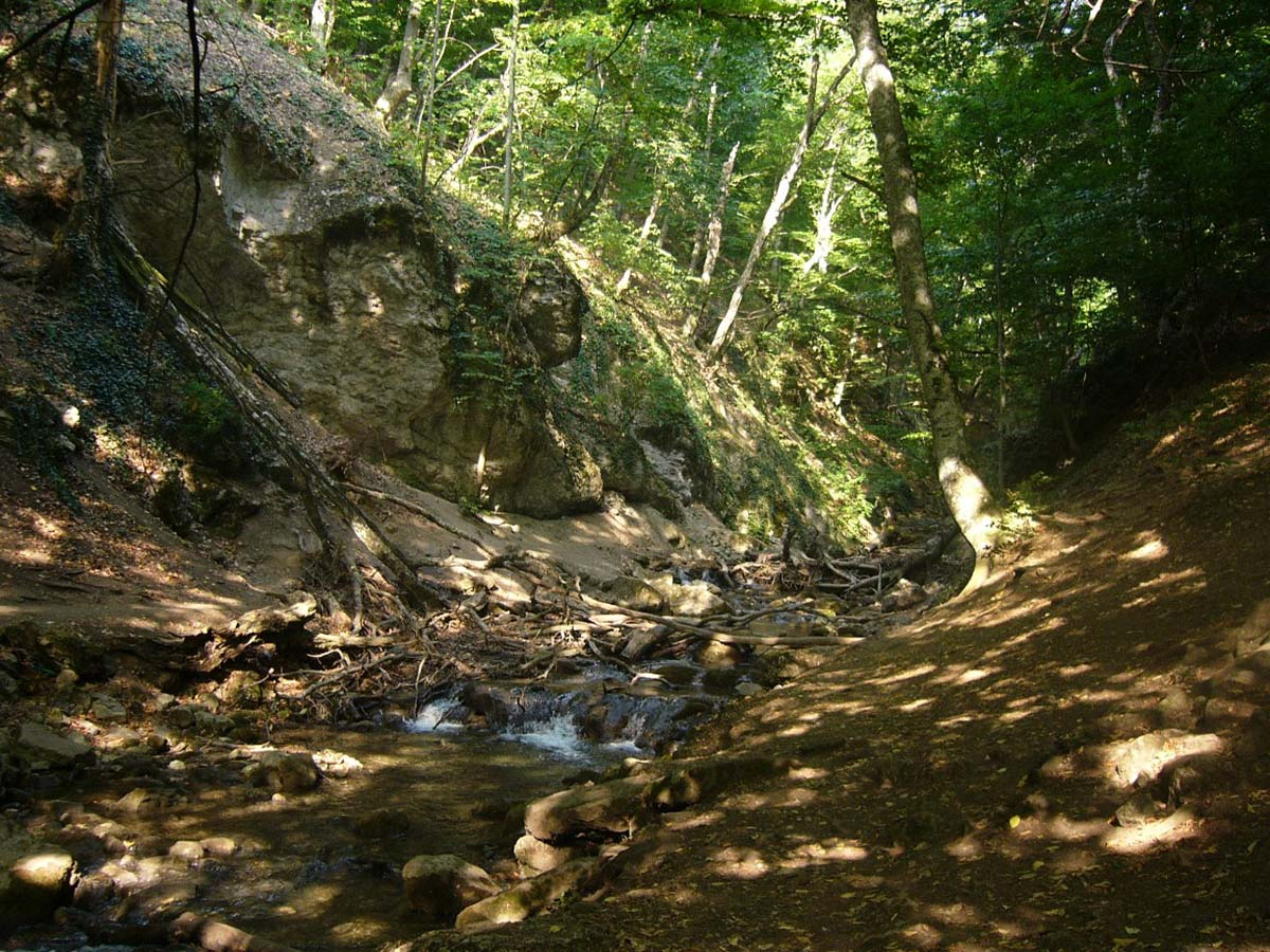 ущелье Хапхал, Большая Алушта, Крым