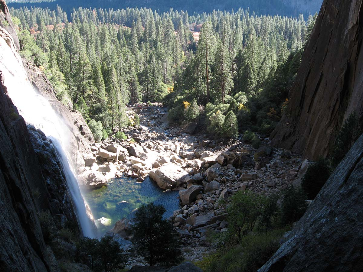 водопад Йосемити, Калифорния, США