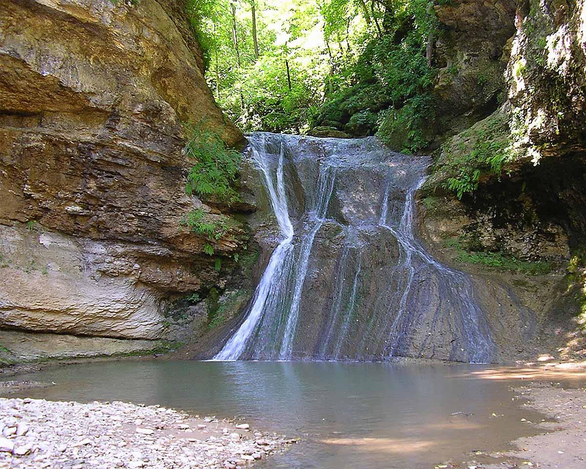водопады Руфабго, Республика Адыгея