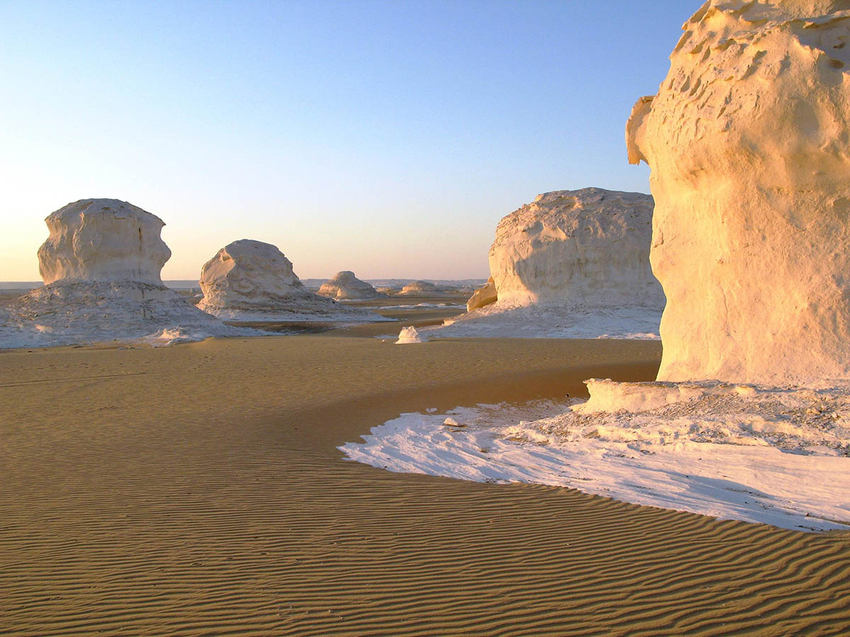 Белая пустыня, Бавити