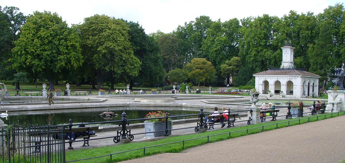 Kensington Garden Fountains