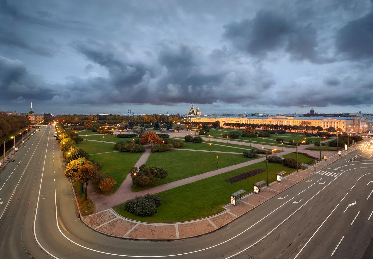 Марсово поле, Санкт-Петербург, Россия