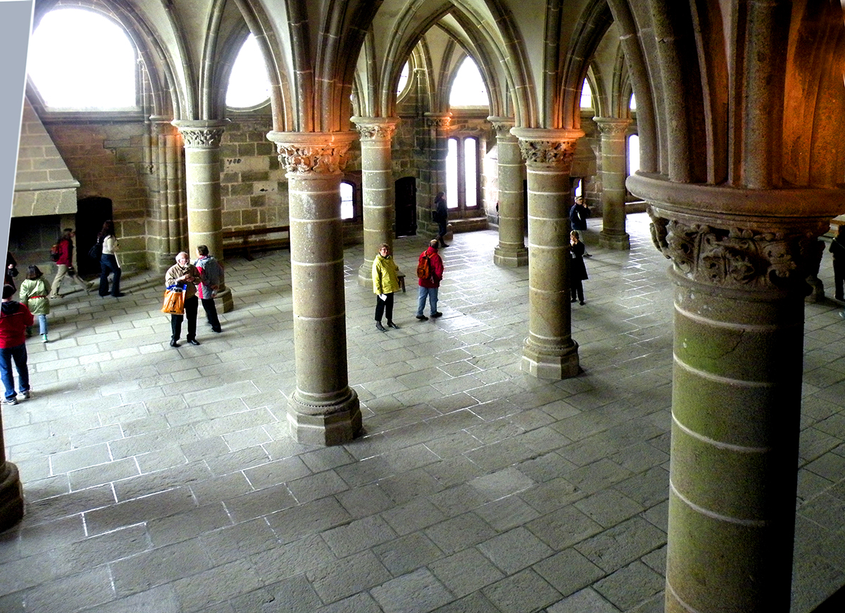 Мон-сен-Мишель, Рыцарский зал