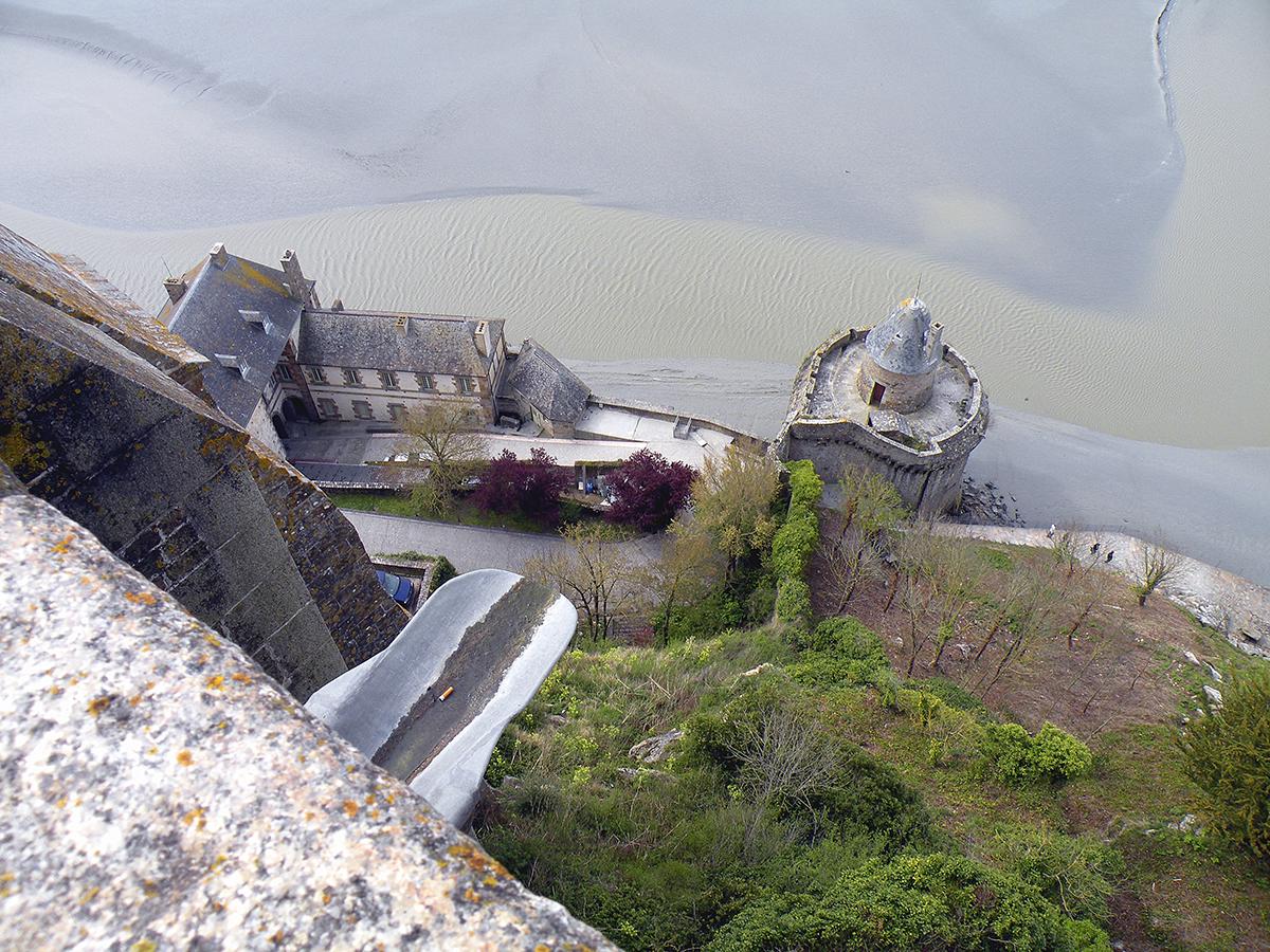 Мон-сен-Мишель, башня Габриель