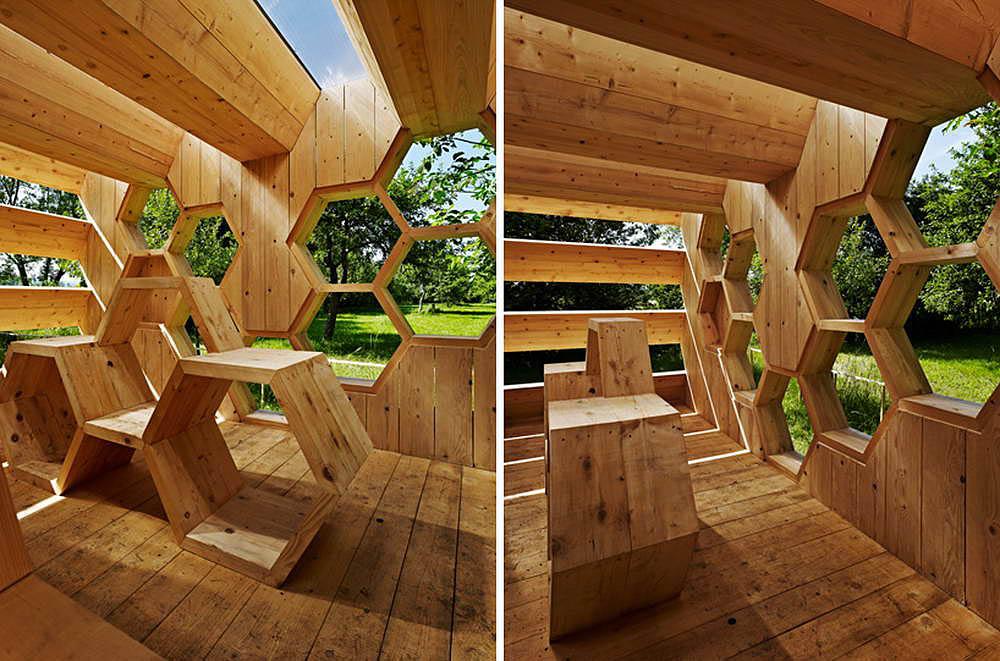Пчелиный павильон Bee Pavilion
