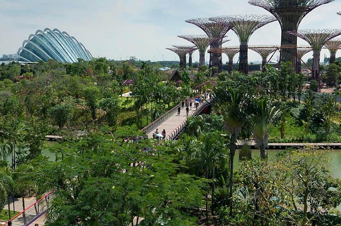 Сингапурские сады